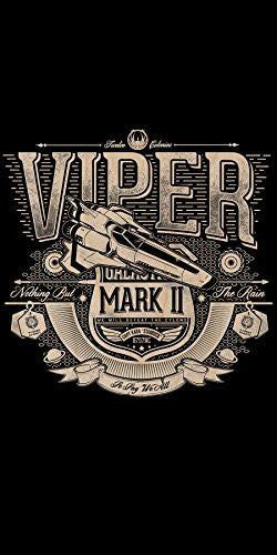 'Viper' TV Show Parody - Plywood Wood Print Poster Wall Art