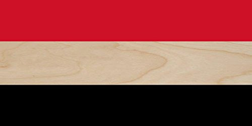 Yemen - World Country National Flags - Plywood Wood Print Poster Wall Art