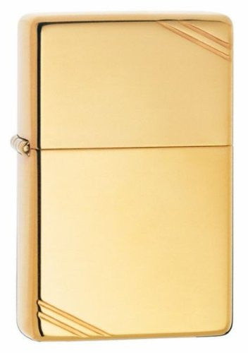 Zippo Vintage High Polish Brass High Quality Durable Popular