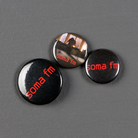 Button/Pin Pack - SomaFM