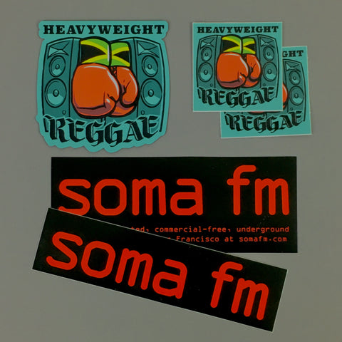 Heavyweight Reggae Fridge Magnet Pack