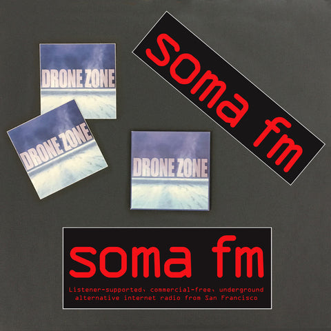 Drone Zone Fridge Magnet Pack