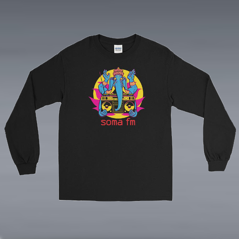 Long Sleeve Goa Boombox Men's/Unisex Shirt