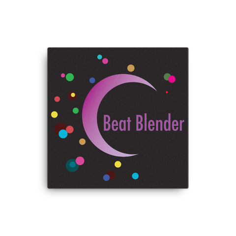 "Beat Blender 16x16"" Stretched Canvas Print"