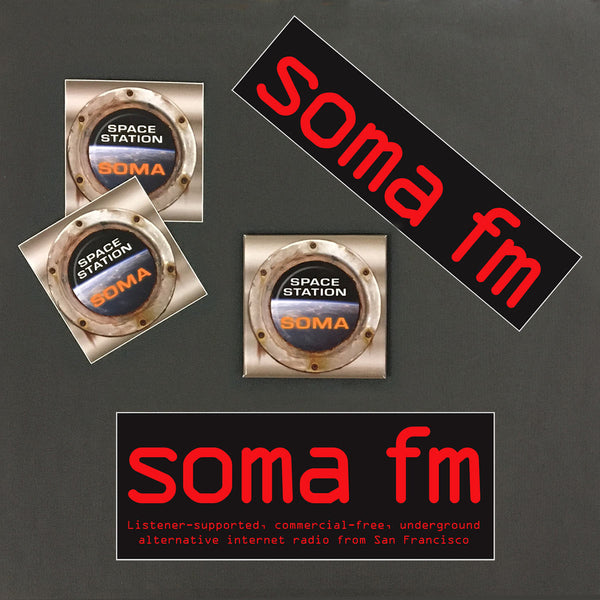 Space Station Soma Fridge Magnet Pack
