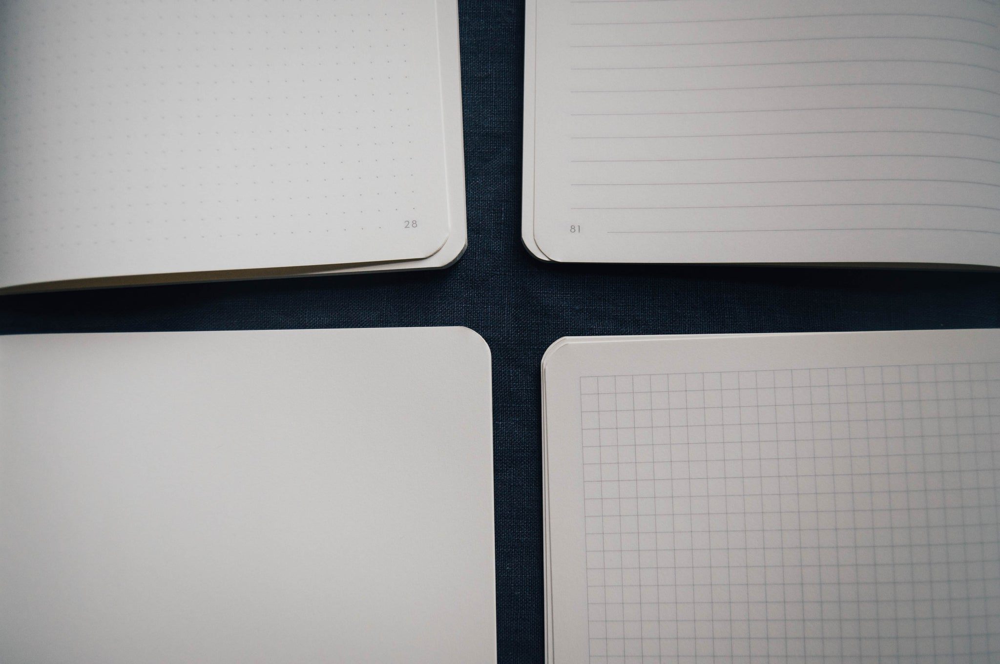 A5 X Graph Paper Notebook 3 Pack