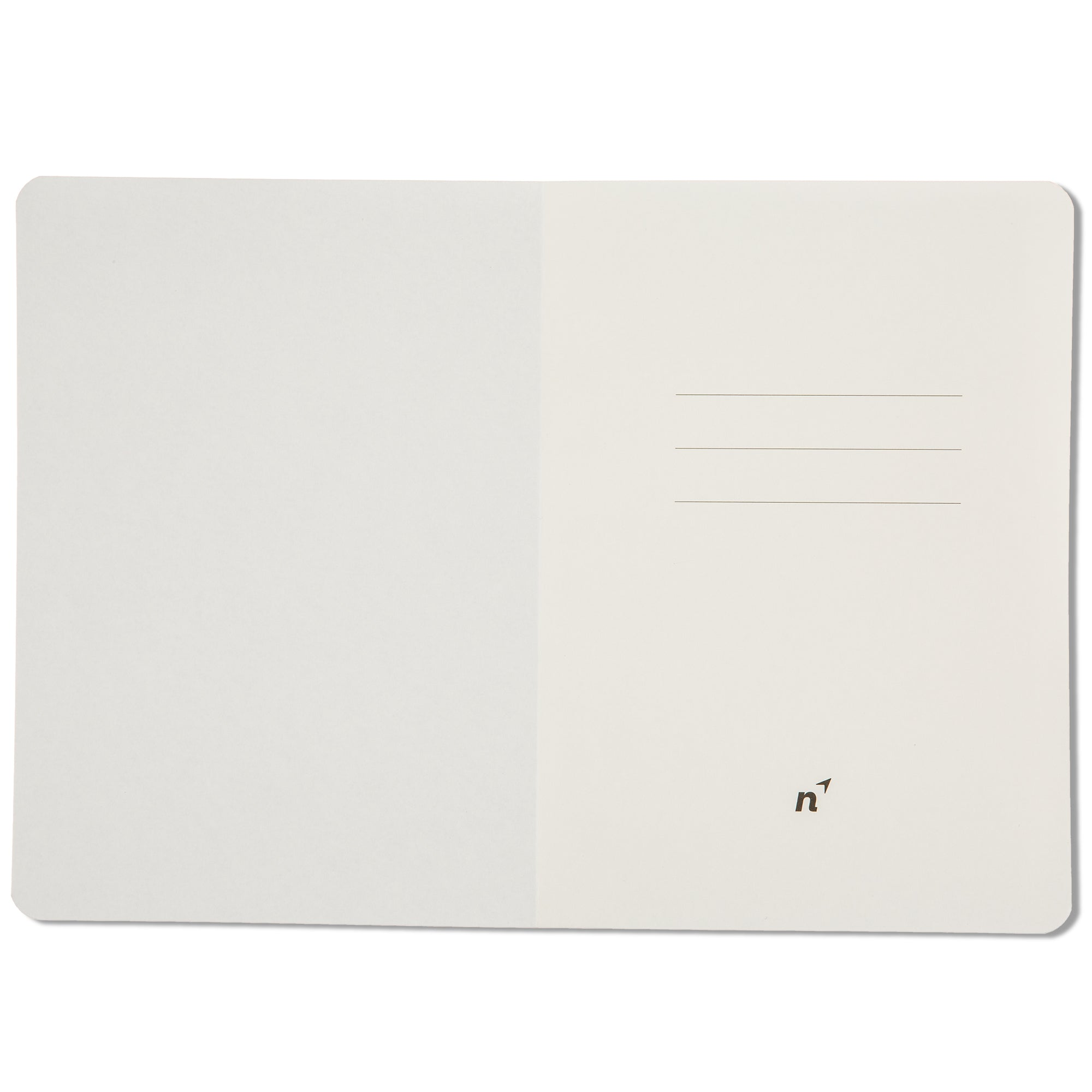 A5 X Ruled Writing Notebook