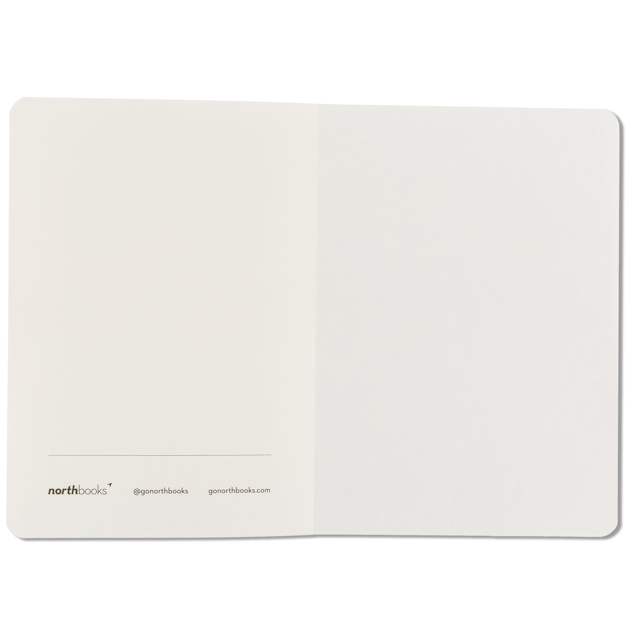 A5 X Blank Sketch Notebook