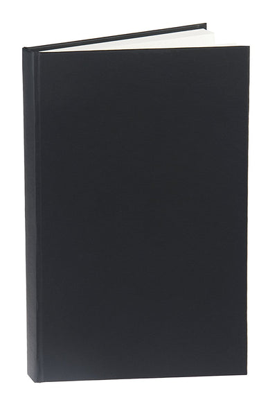 Ruled Vegan Leather Hardcover 5x8 Notebook, 192 Pages