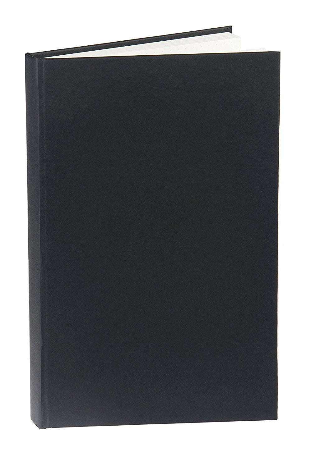 Blank Vegan Leather Hardcover 5x8 Notebook, 192 Pages