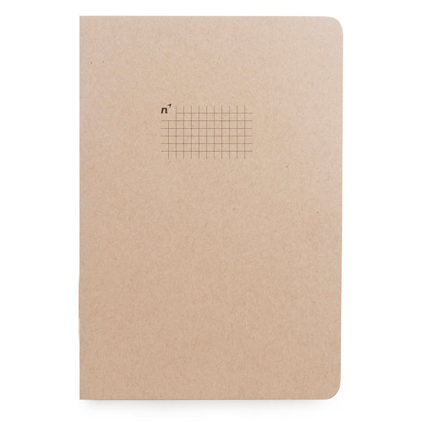 Northbooks B5 Square Grid Graph Notebook 7 x 10 inch Large | Made in USA