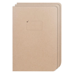 Northbooks 3 Pack of B5 Blank Sketchbooks 7 x 10 inch Large | Made in USA