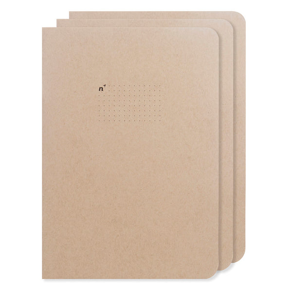 Northbooks 3 Pack of B5 Dots Bullet Journals 7 x 10 inch Large | Made in USA