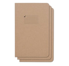 Lines 3 Pack of 5x8 Notebooks, 96 College Ruled Pages