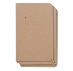 Dots 5 Pack of 5x8 Notebooks, 96 Pages