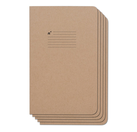 Lines 60 Pack Case of 5x8 Notebooks, 96 College Ruled Pages