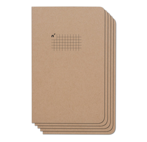 Squares 60 Pack Case of 5x8 Notebooks, 96 Pages
