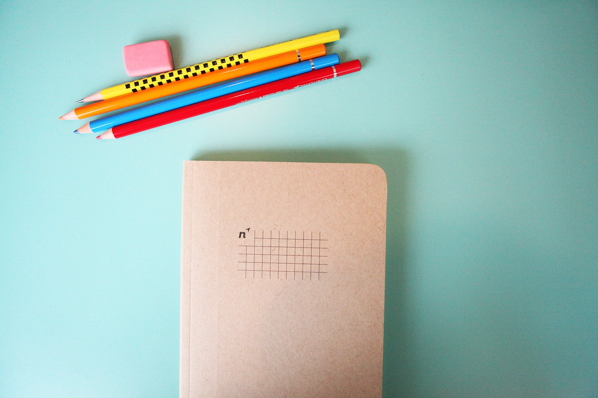 Squares 5x8 Notebook, 96 Pages