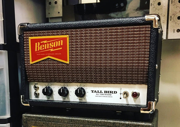 Benson Amps Tall Bird Reverb Unit (Custom Order 4-6 Months)