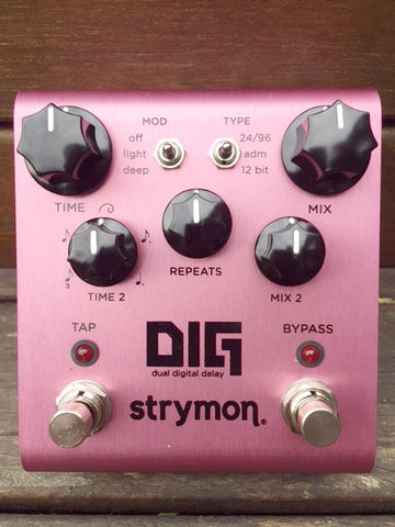 strymon DIG dual digital delay (1 Week Lead Time)