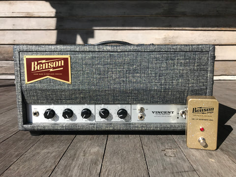 Benson Amps Vincent 30 Watt Amplifier Head