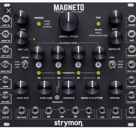 Strymon Magneto Four Head dTape Echo & Looper (Coming Soon)