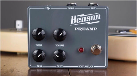 Benson Preamp Pedal (Demo Unit)