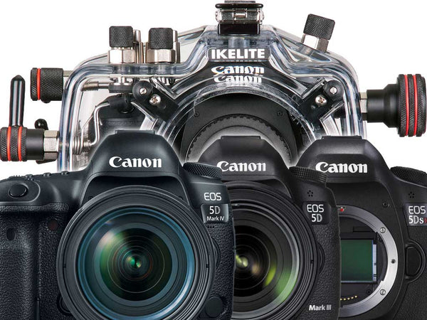 Housing Compatibility for Canon 5D Mark III, 5D Mark IV, 5DS, 5DS R