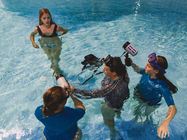 Behind the Scenes of Alison Bounce's Underwater Portraiture Workshop 2019