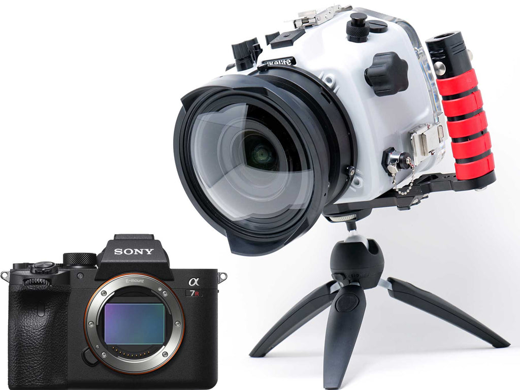 First Look Sony Alpha a7R IV Underwater Housing