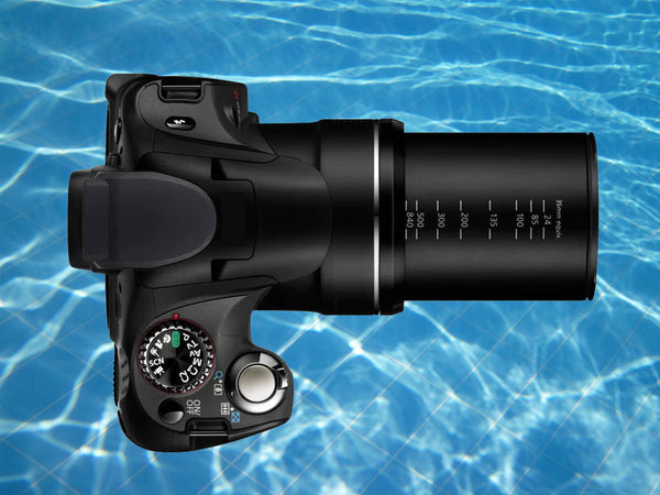 Super Zoom Cameras Underwater