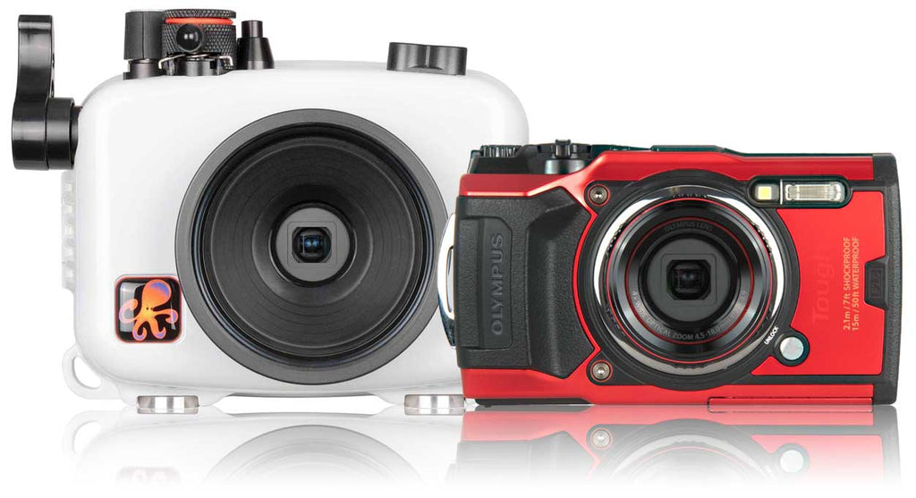Olympus Tough TG-6 with Ikelite Underwater Housing