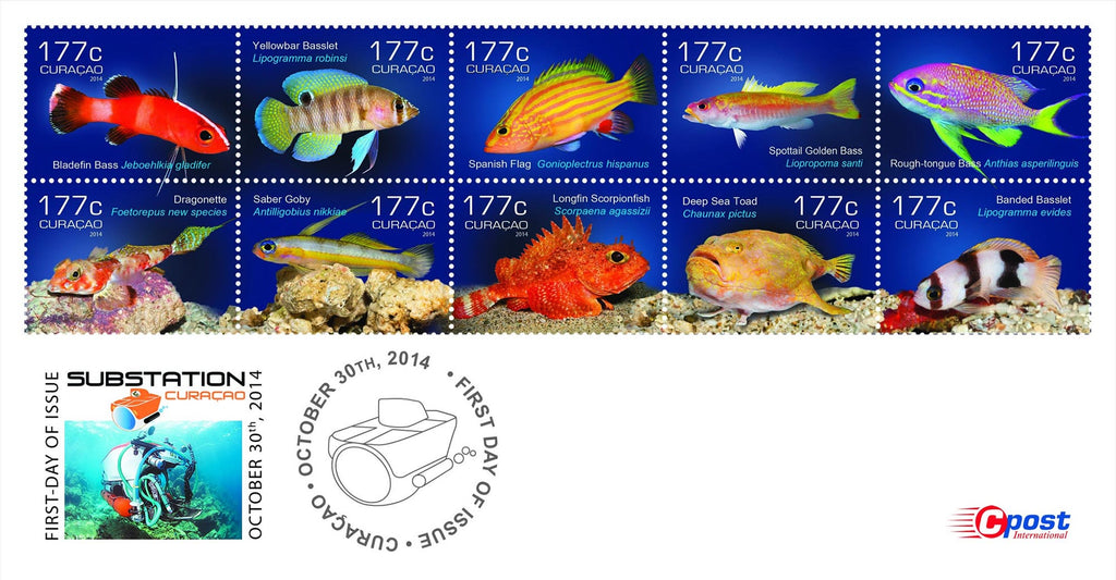 Barry Brown Curasub Stamps