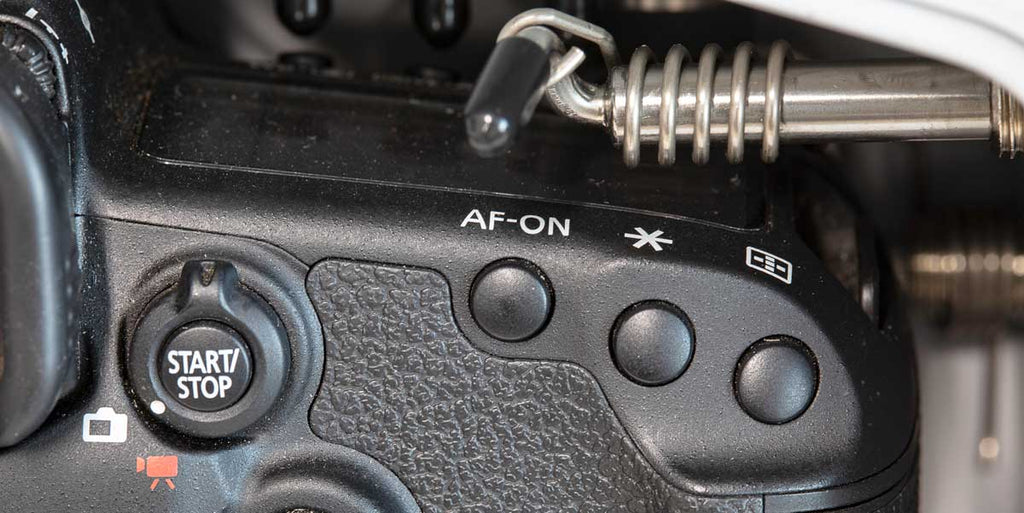 Canon AF-ON button