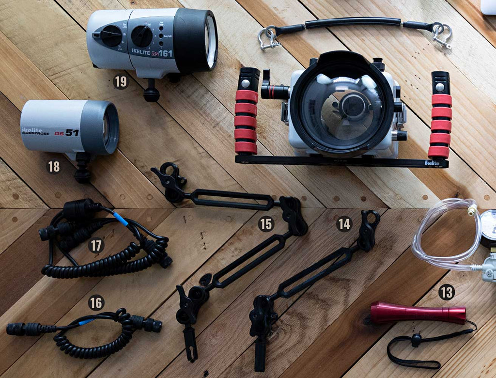 Accessories for Canon Rebel SL3 250D Underwater Ikelite