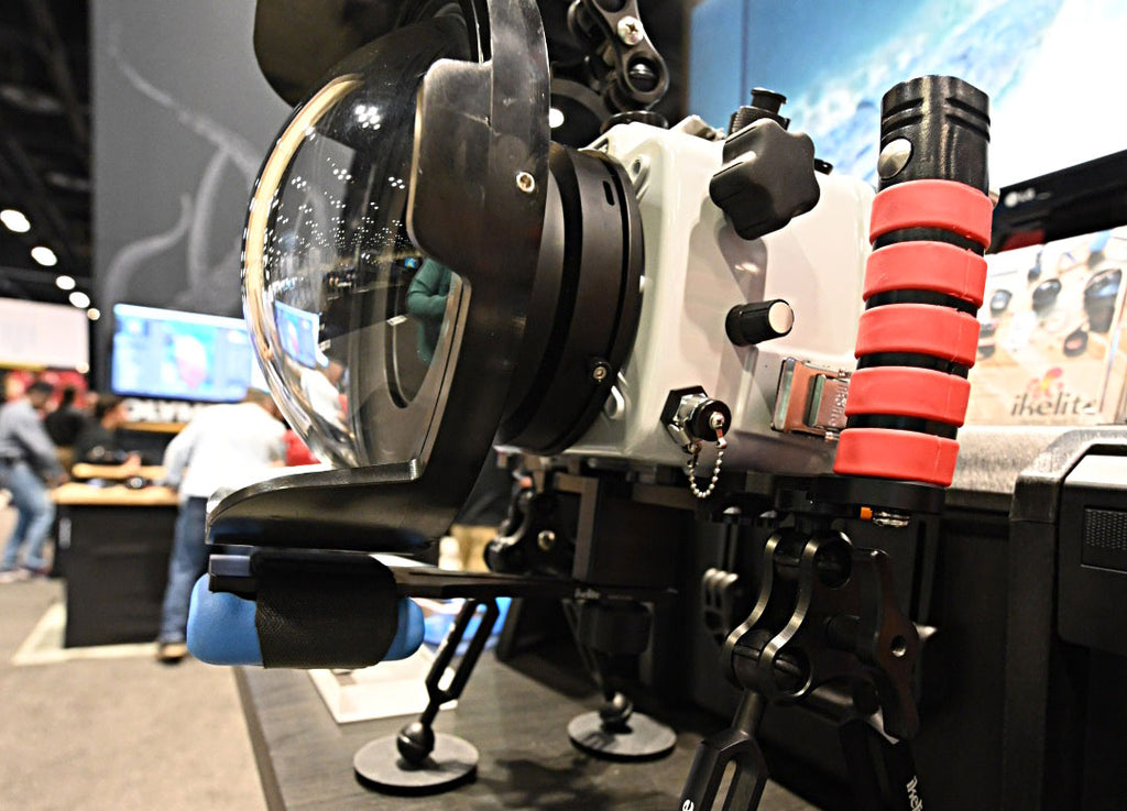 Ikelite trim weight system for DSLR and mirrorless underwater housings