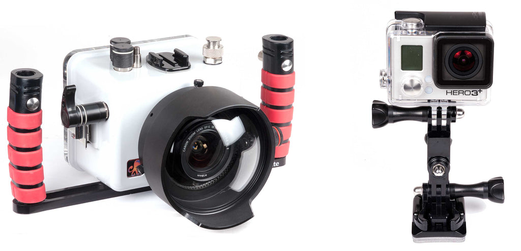 Attaching a GoPro to your Underwater Housing