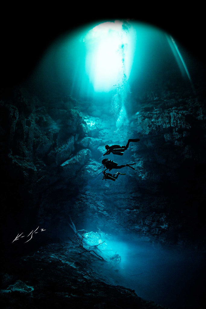 Cenotes Underwater Photo by Ken Kiefer