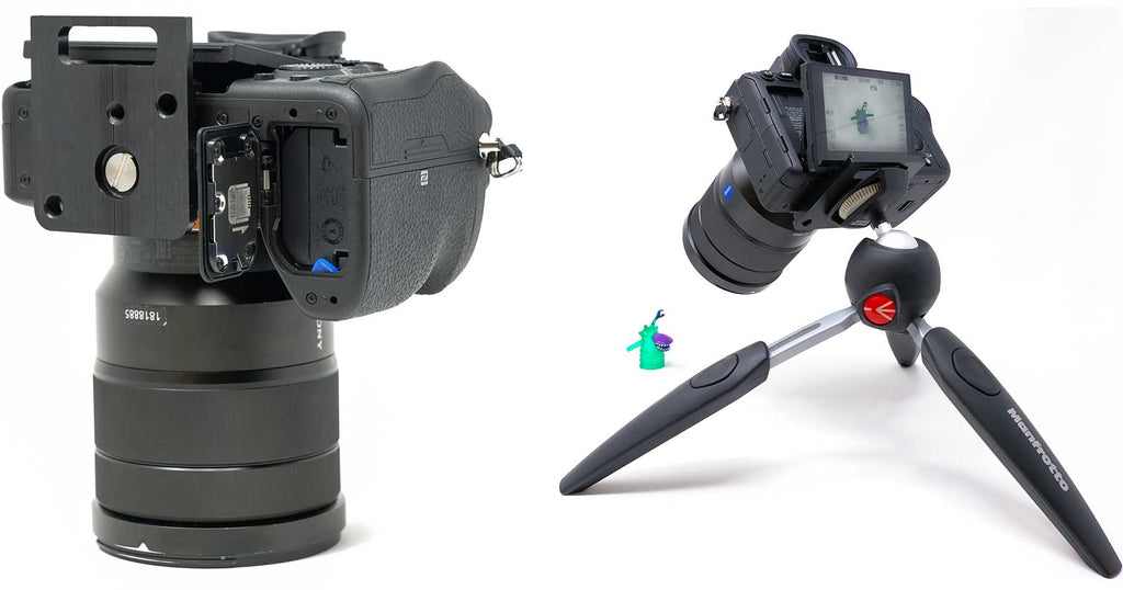 Sony a7R IV Underwater Housing Camera Mount