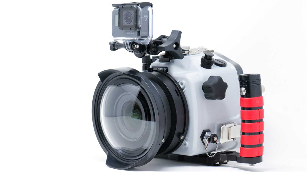 Sony a7R IV Underwater Housing GoPro Top Mount