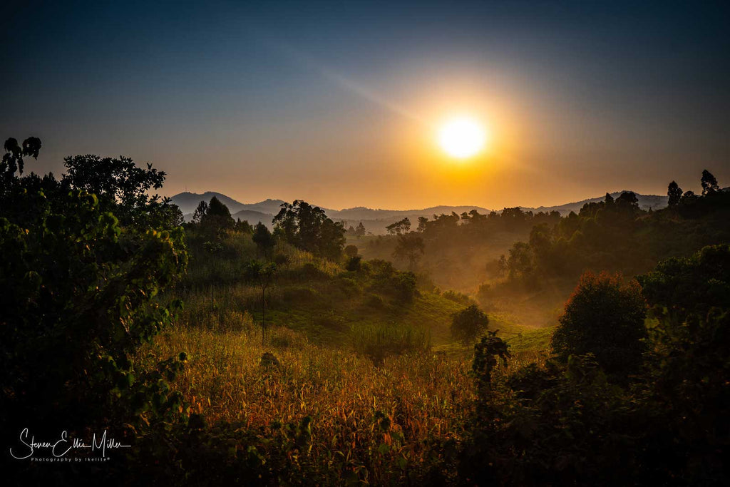 Sunrise over Uganda by Steve Miller Ikelite Ambassador with Sony A7R III