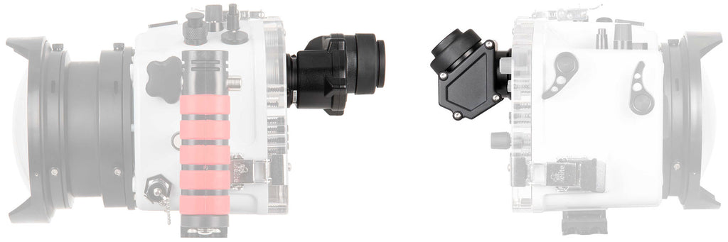 Ikelite Straight and 45 Degree Magnifying Viewfinders
