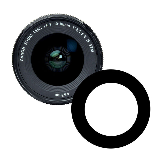 Anti-Reflection Ring for Canon 10-18mm STM Lens