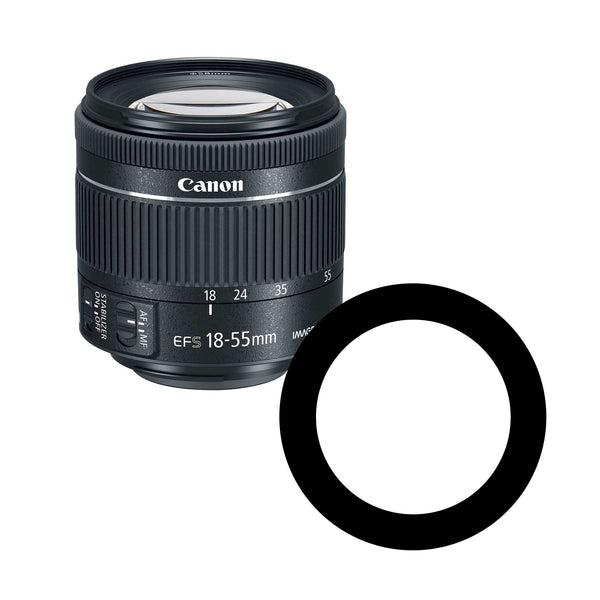 Anti-Reflection Ring for Canon 18-55mm Lenses