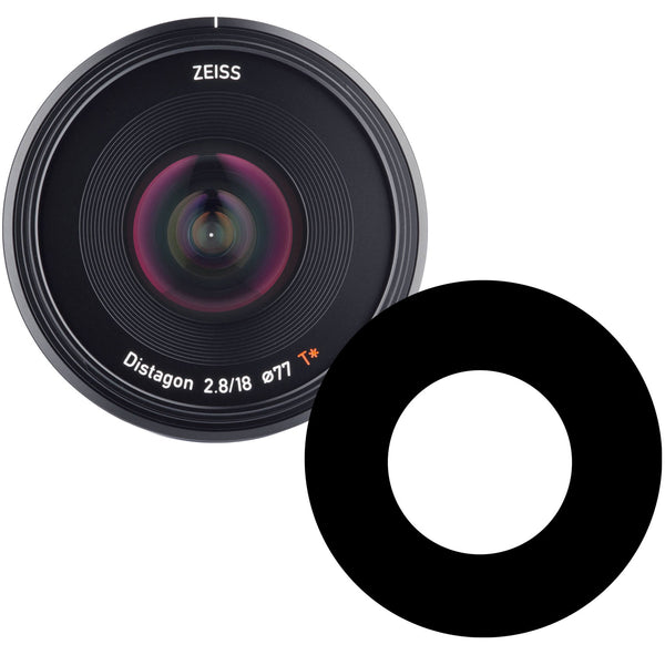 Ikelite Anti-Reflection Ring for ZEISS Batis 18mm f/2.8 Lens for Sony E