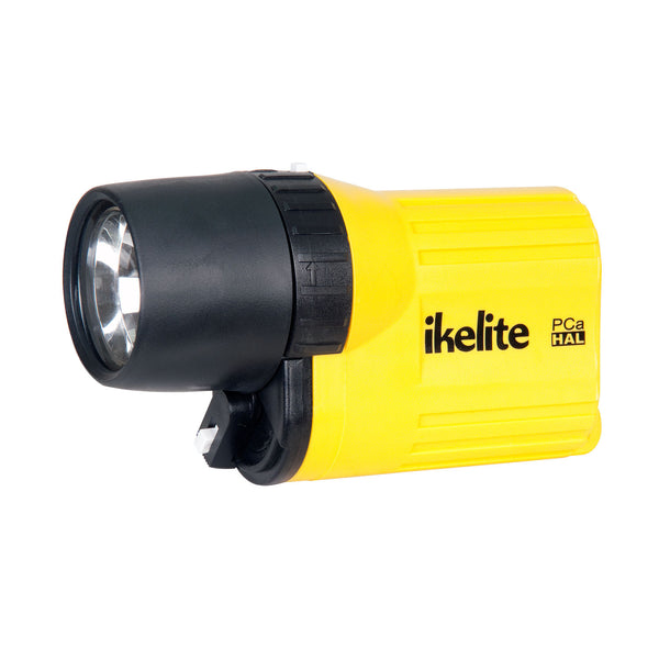 PCa Halogen Waterproof Flashlight
