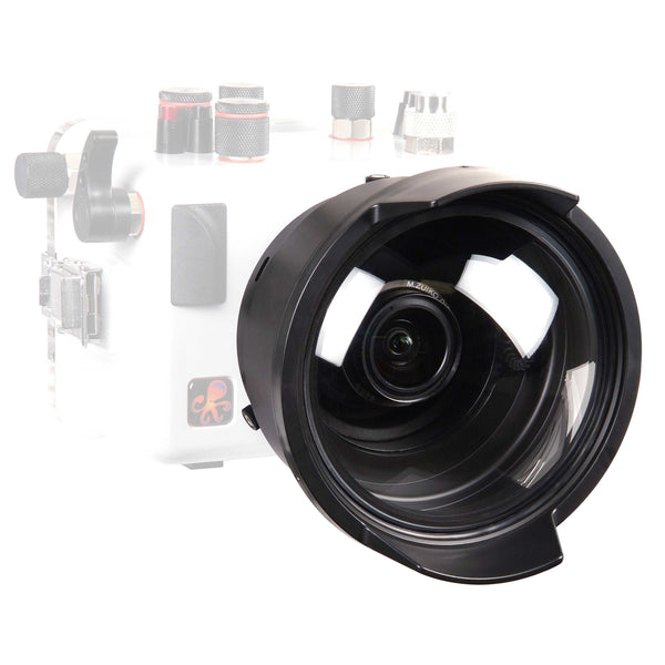 DLM 6 inch Dome Port with Zoom Extended 1.0 Inch