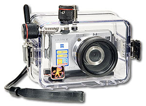 Underwater Housing for Sony W100