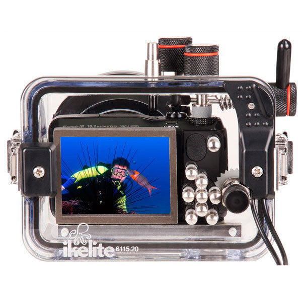 Underwater Housing for Sony Cyber-shot HX20, HX30