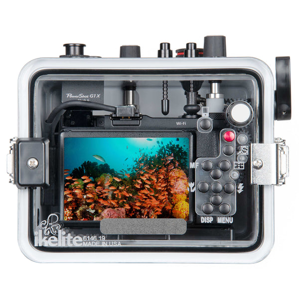 Underwater TTL Housing for Canon PowerShot G1X Mark II Digital Cameras (Updated)
